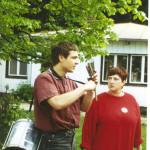 Workshop beim DGB 1992