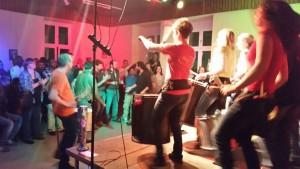 Tanzparty bei Pimento