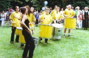 1998 -  Pimento Auftritt im Ruderclub Lauingen