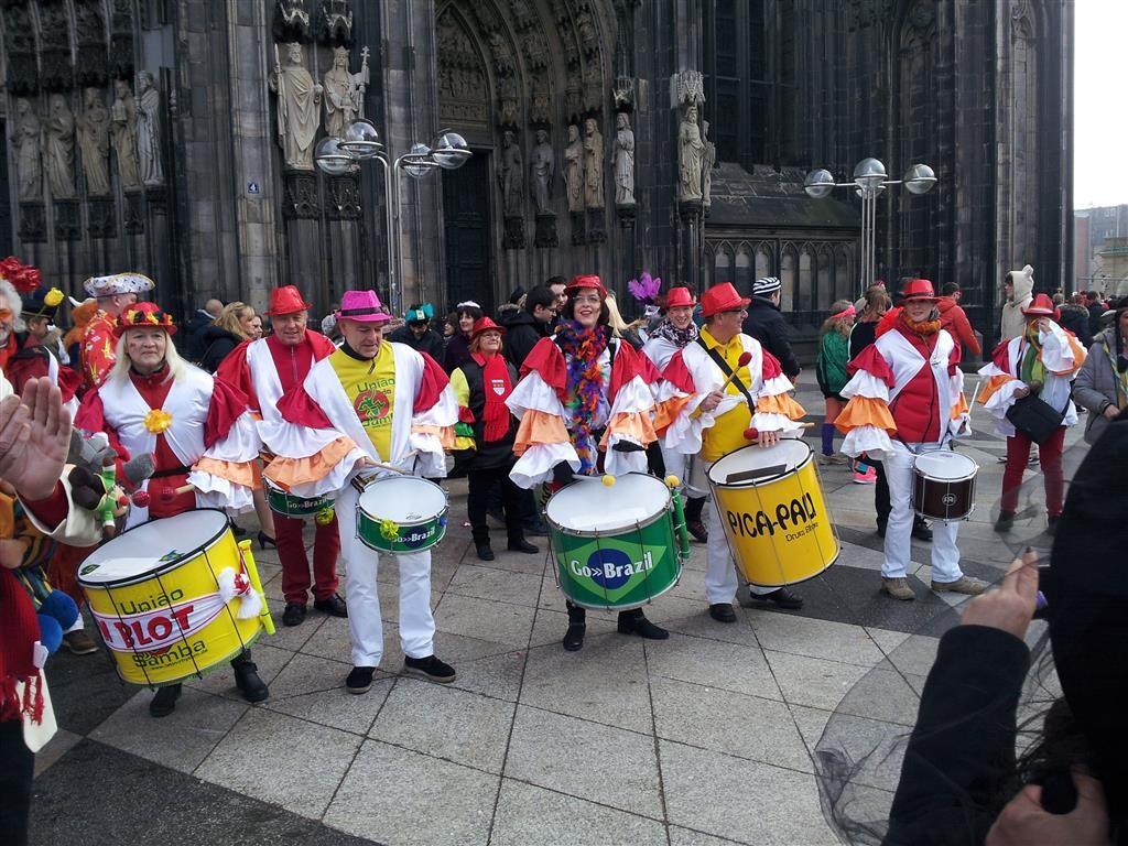 2015-02-11 bis 15 - Uniao do Samba beim Kölner Karneval ...