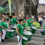 Go>>Brazil trommelt beim Stadtlauf München