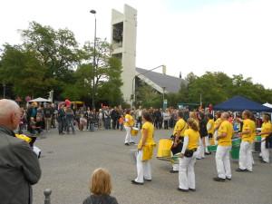 Uniao do Samba auf dem Straßenfest in Gräfelfing