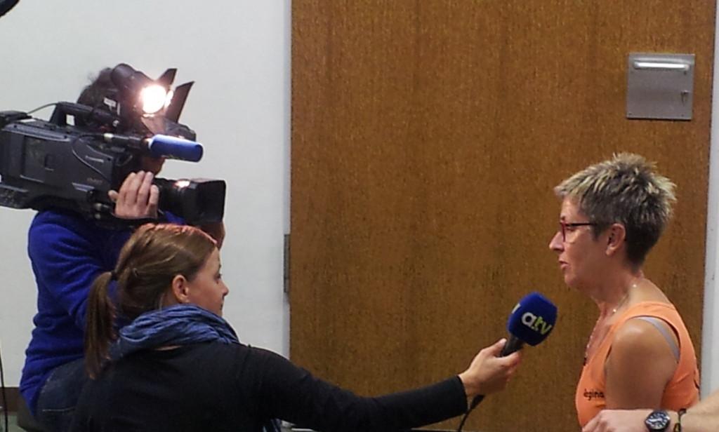 Claudia Markert (a.tv) und Regina Schmid (Pimento)