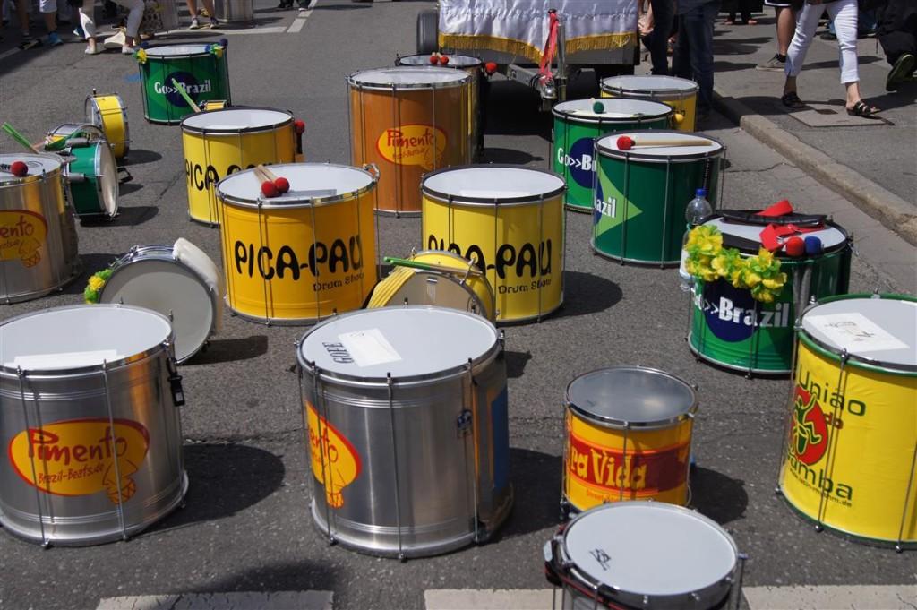 União do Samba - Instrumente