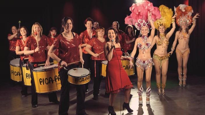 Pica-Pau - Samba-Drum-Show aus Augsburg