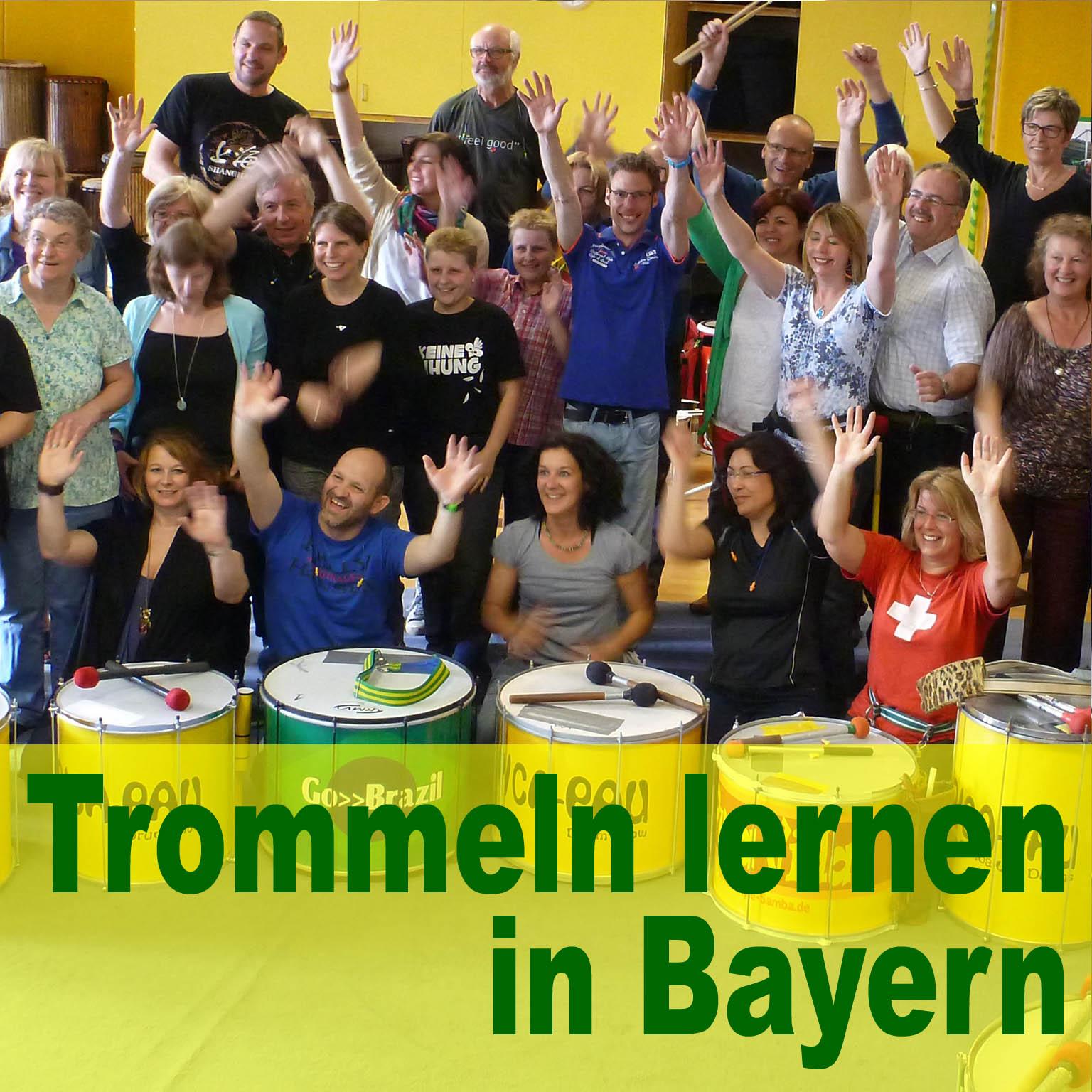 Trommeln lernen in Augsburg, München, Dillingen, Peiting
