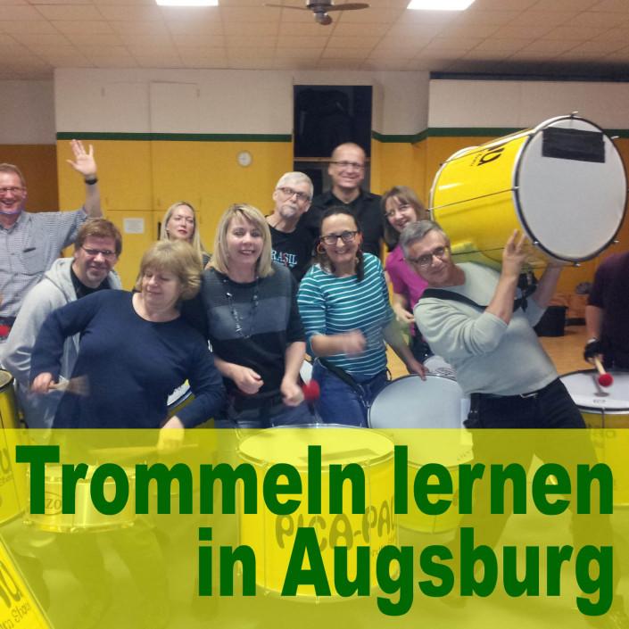 Trommeln lernen in Augsburg bei Pica-Pau+