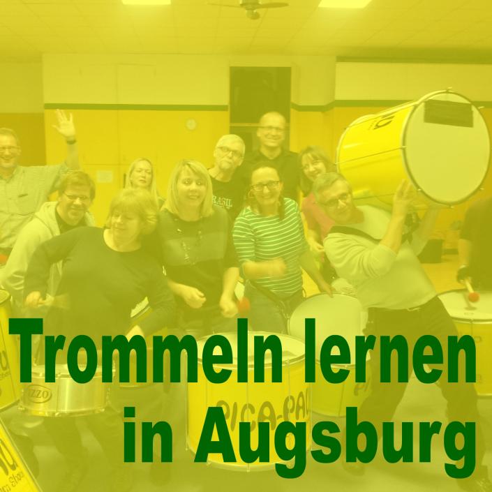 Trommeln lernen in Augsburg bei Pica-Pau
