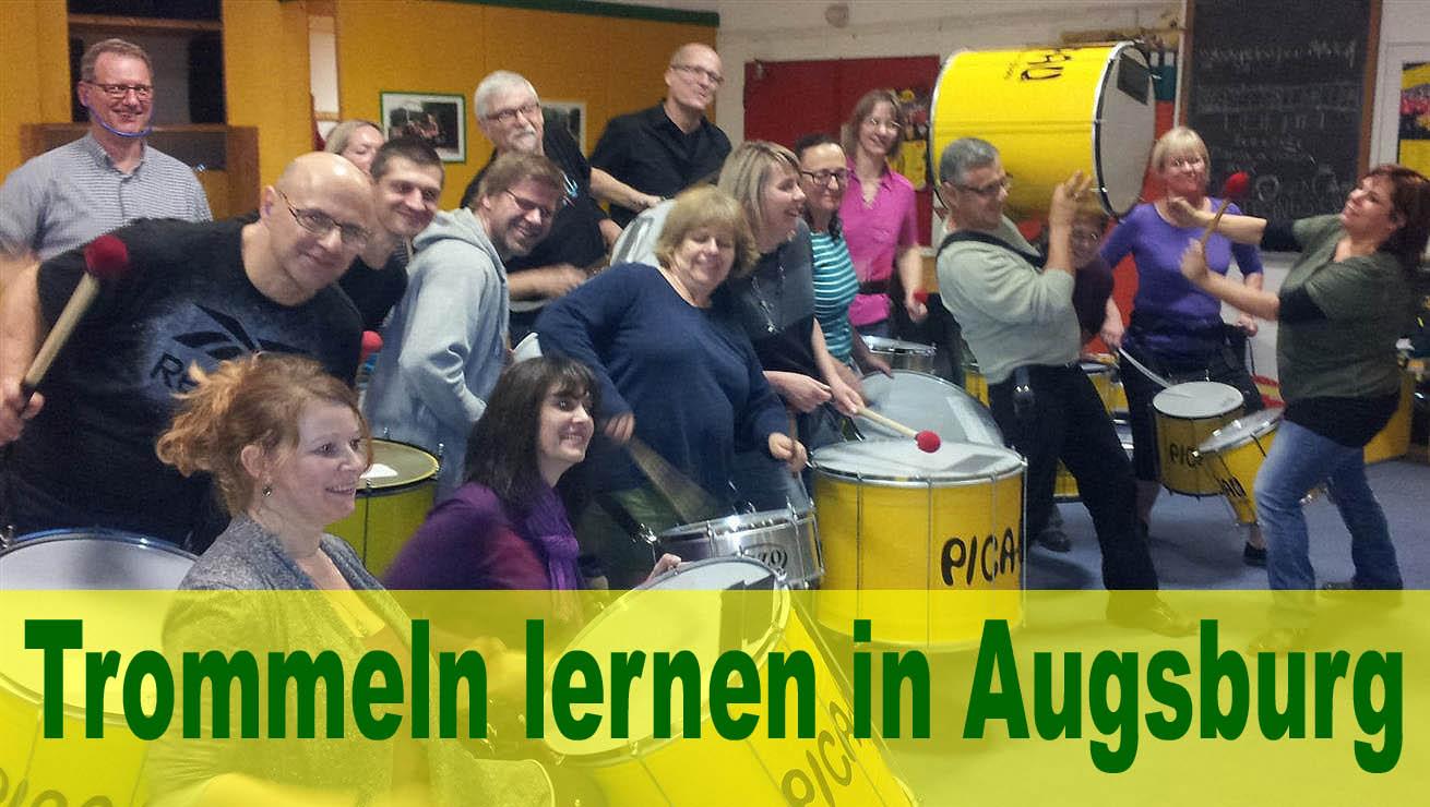 Trommeln lernen in Augsburg