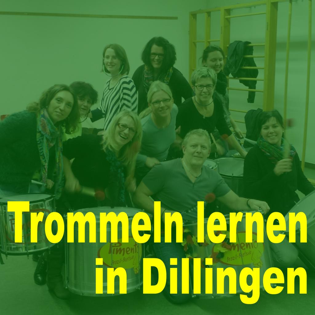 Trommeln lernen in Dillingen bei Pimento