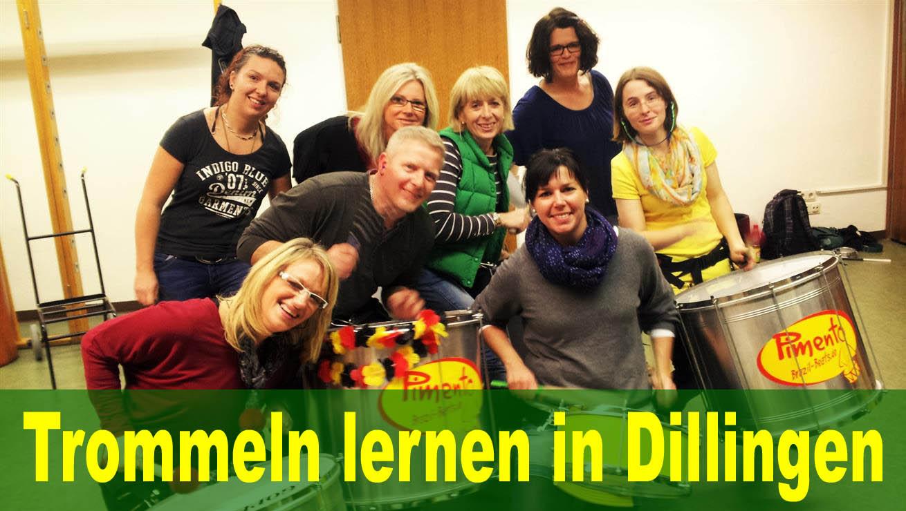 Sambattrommeln lernen in Dillingen