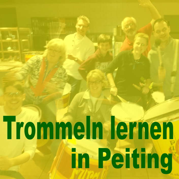 Trommeln lernen in Peiting bei Pura Vida