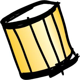 Repinique - brasilianische Trommel des Gruppenleiters