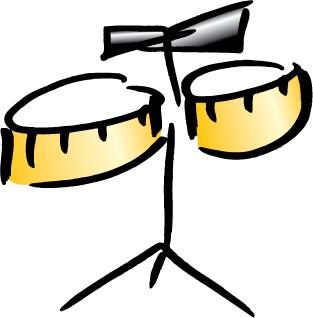 Timbales - Sambareggae Leitinstrument bei Bühnenauftritten