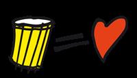 Trommel = Herz