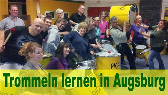 Augsburg - Trommel-Schnupperkurs bei Pica-Pau am 09.11.2021