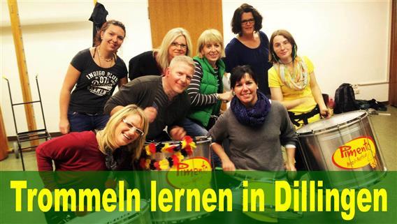 Dillingen - Trommel-Schnuppertermin bei Pimento am 23.09.2021