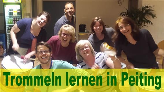 Peiting - Trommel-Schnuppertermin bei Pura Vida am 08.11.2021