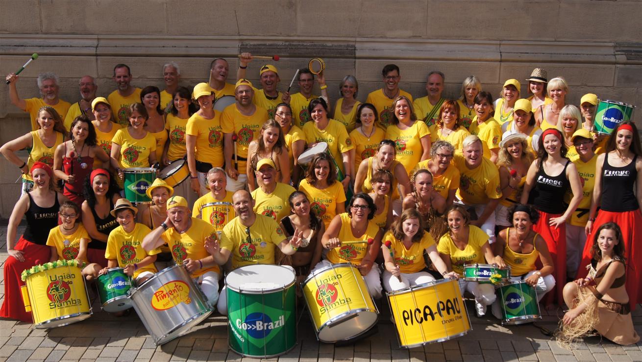 Uniao do Samba - die große Sambagruppe aus Bayern