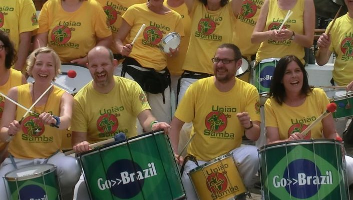 Auftritte mit Uniao do Samba