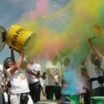 Colorrun München 2016 mit Uniao do Samba