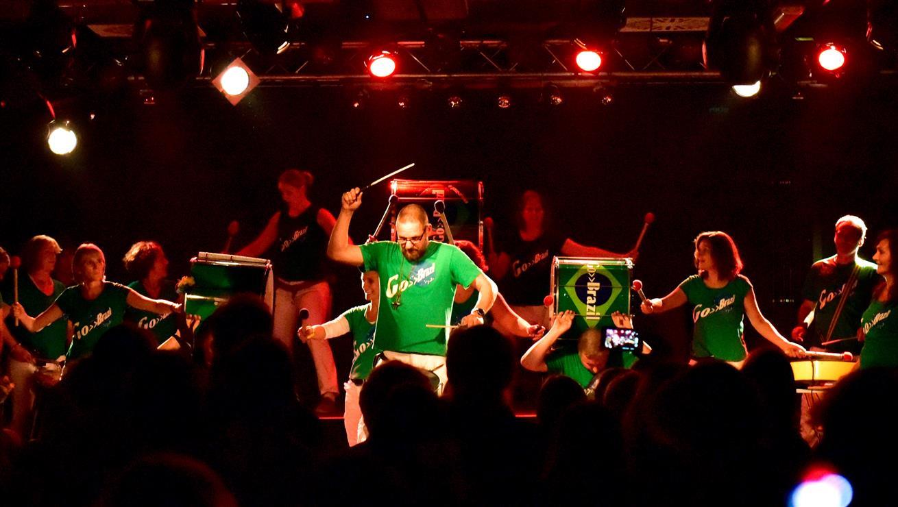 Ulrich Bammer, Samba-Auftritte- Foto Sabine Fritz