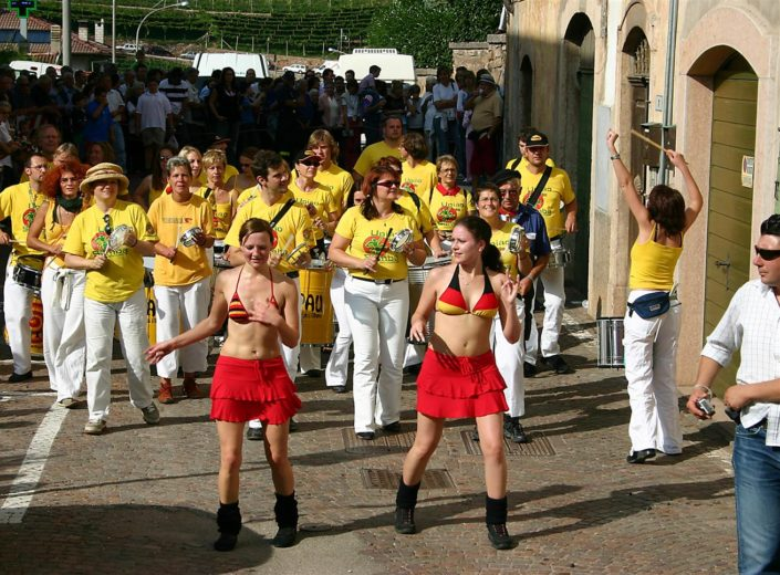 Uniao do Samba beim Traubenfest Festa dell Uva in Verla 2006