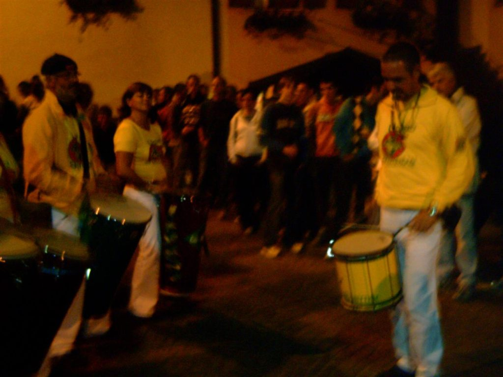 Uniao do Samba beim Traubenfest Festa dell Uva in Verla 2007