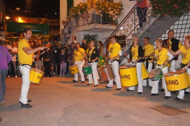 Uniao do Samba beim Traubenfest Festa dell Uva in Verla 2011