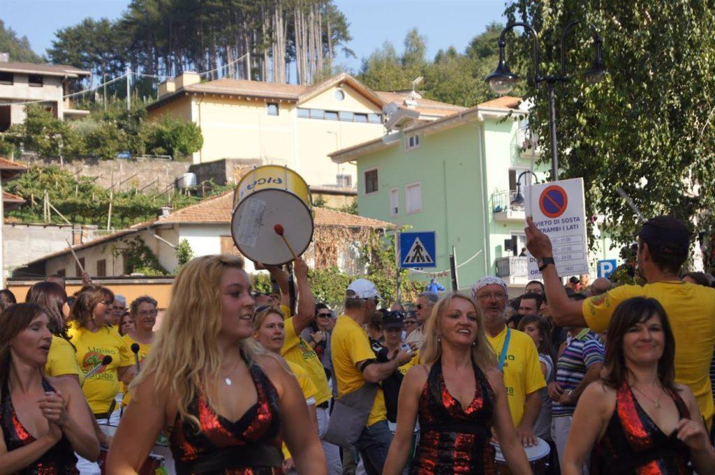 Uniao do Samba beim Traubenfest Festa dell Uva in Verla 2011
