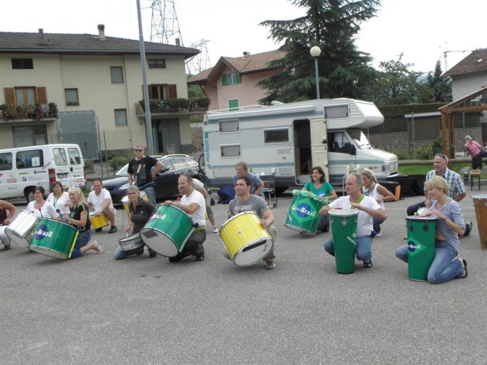 Uniao do Samba beim Traubenfest Festa dell Uva in Verla 2012