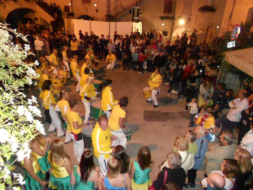 Uniao do Samba beim Traubenfest Festa dell Uva in Verla 2012