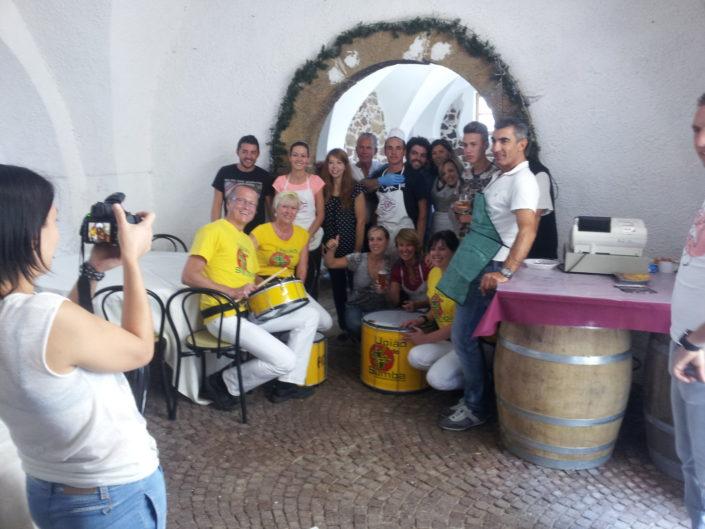 Uniao do Samba beim Traubenfest Festa dell Uva in Verla 2014