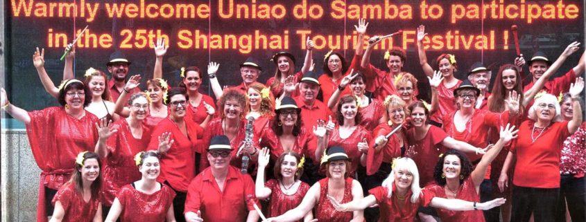 Uniao do Samba beim internationalen Tourismusfestival Shanghai 2014
