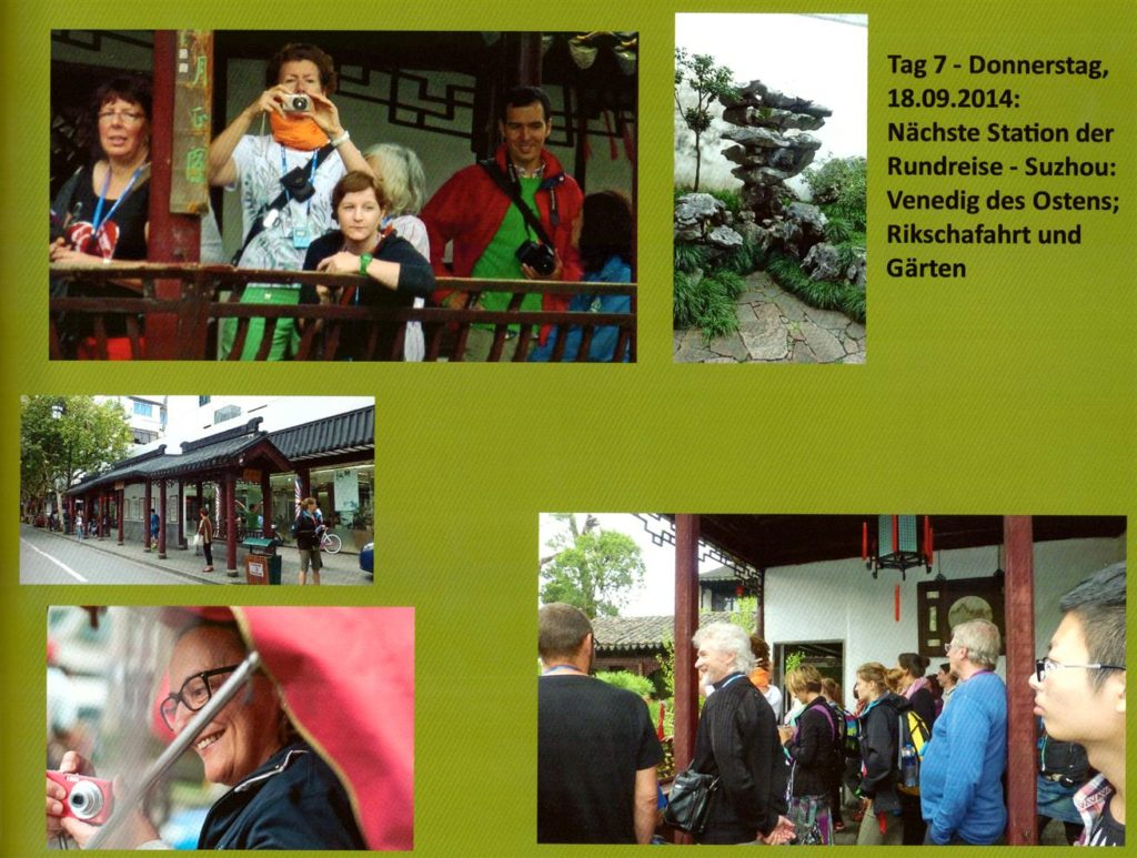 Tag 7 - Donnerstag - 18.9.2014 - Suzhou