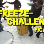 Freeze-Challenge Pica-Pau Mannequin-Challenge