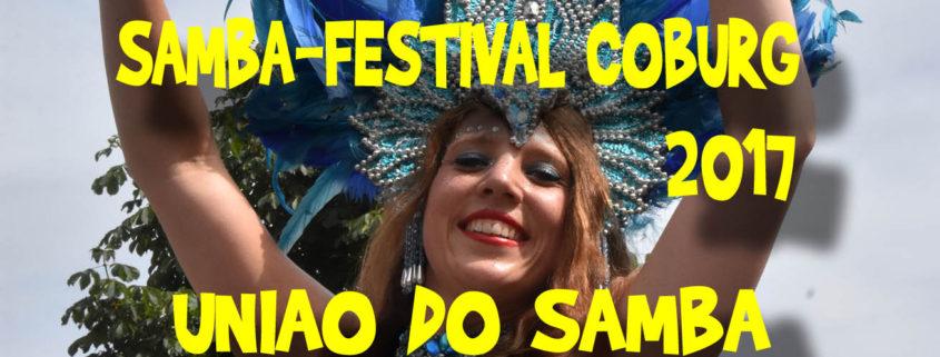Coburg Sambafestival 2017 - Uniao do Samba Video