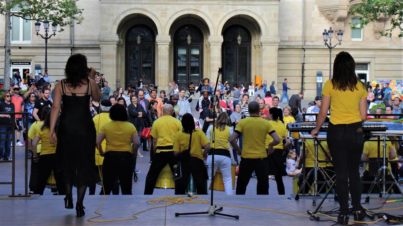 Uniao do Samba Place D´Armes Luxembourg