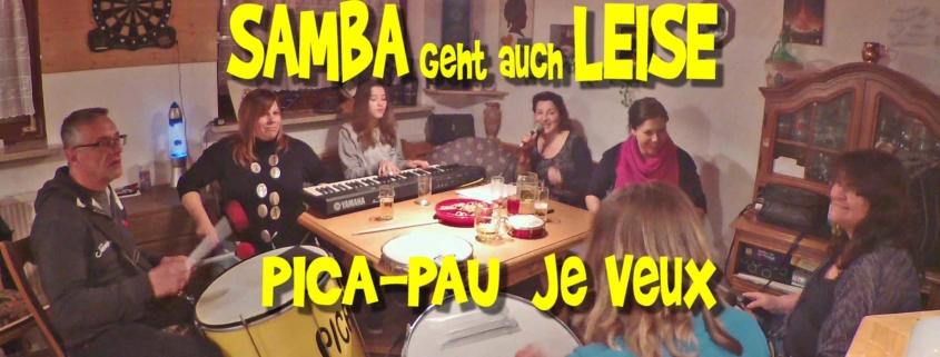 Leise Sambamusik von Pica-Pau - Je Veux