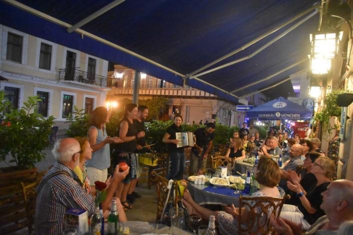 Feiern mit Uniao do Samba