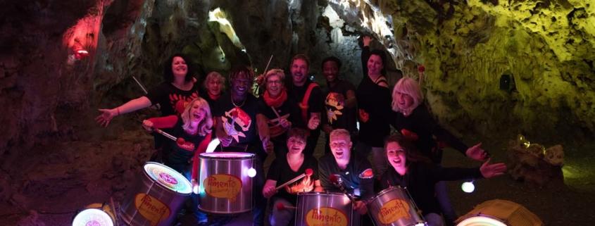 Pimento mit neuer Lightshow in der Charlottenhöhle