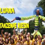 Riesen-Sambatänzerin Luana