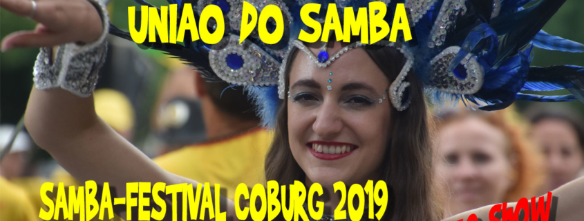 Uniao do Samba beim Sambafestival Coburg 2019