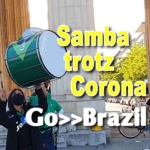 Go-Brazil München Königsplatz in Coronazeiten