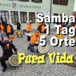 Pura Vida - Samba in 5 Orten an einem Nachmittag in der Coronakrise