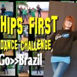 Go-Brazil bei der Tanz-Challenge Hips First