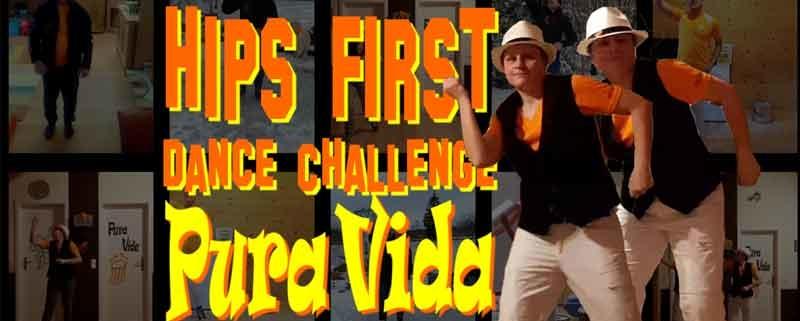 Hips First Dance Challenge Pura Vida Peiting