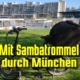 Mit eBike und Trommel durch München